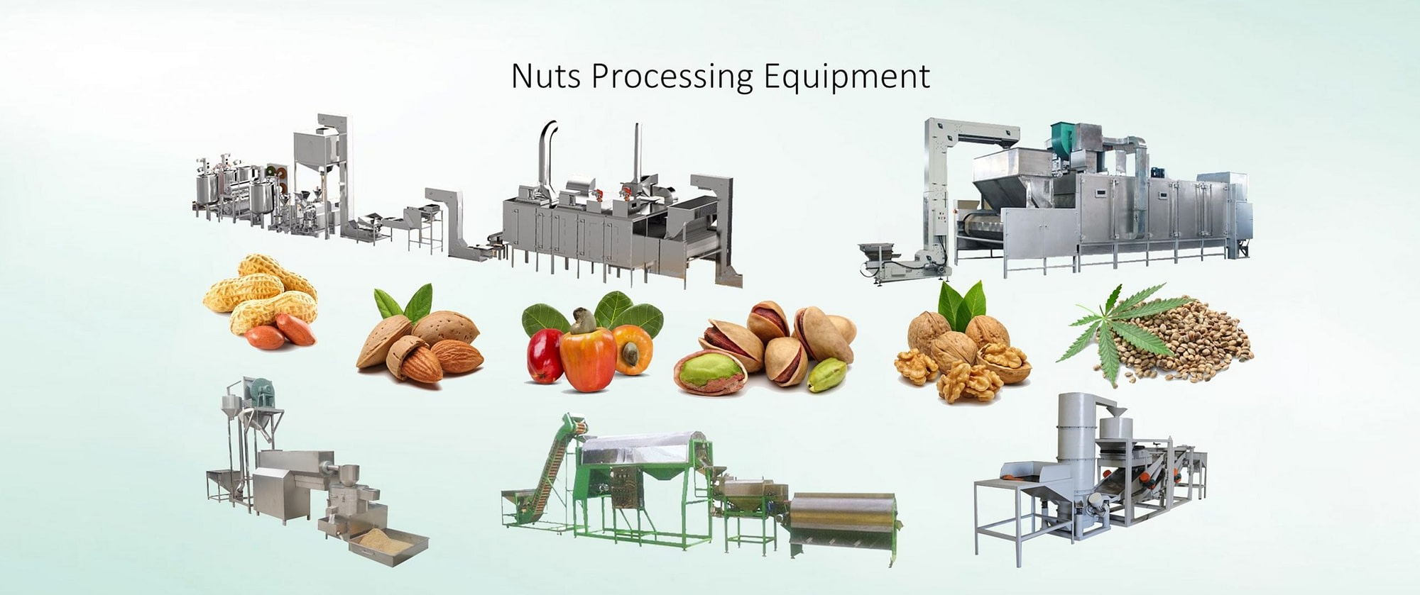 Website Banner-Nuts Processing Machines