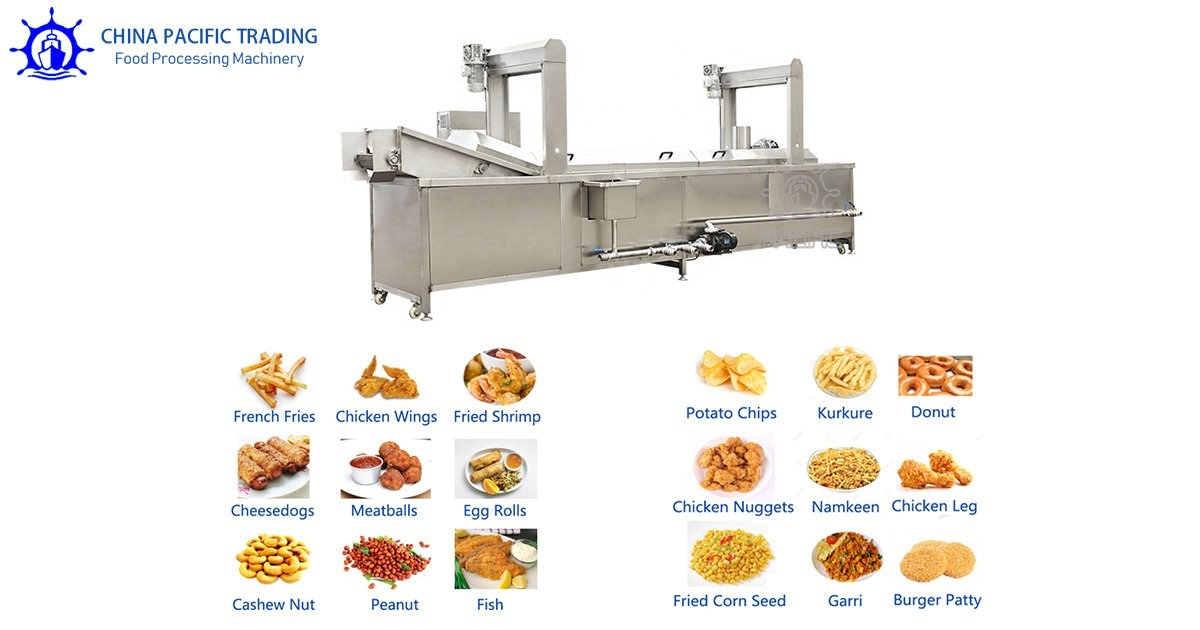 Related Continuous Peanut Fryer Machine