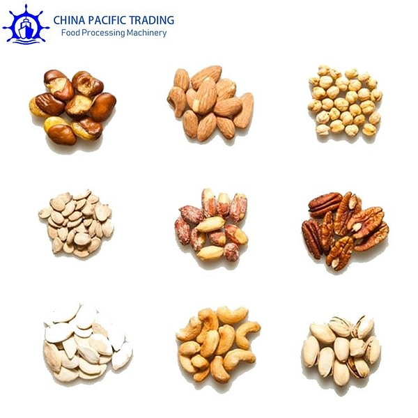 Continuous Nut Roasting Machine Application