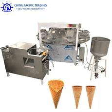 Pictures of Ice Cream Cone Making Machine