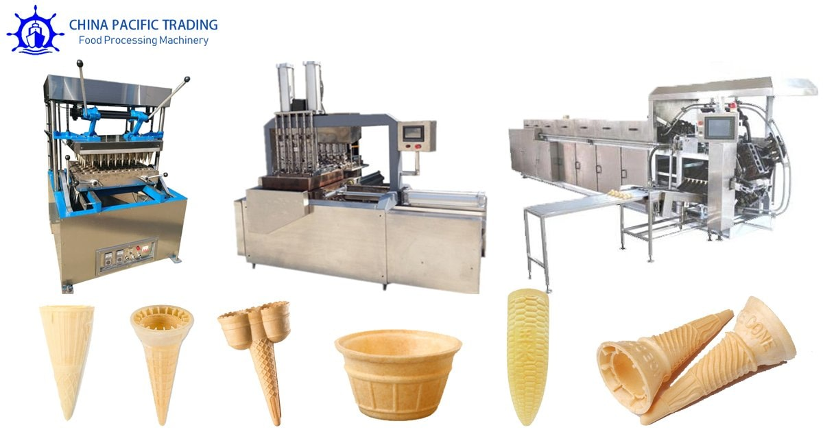 Wafer Cone Making Machine Pictures