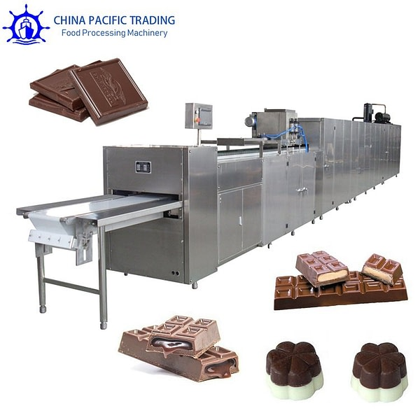 Pictures of Automatic Chocolate Moulding Machine