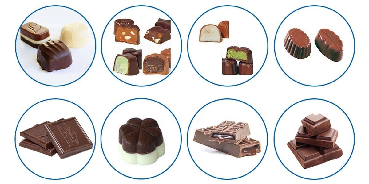 Chocolate Making Machine Application Range