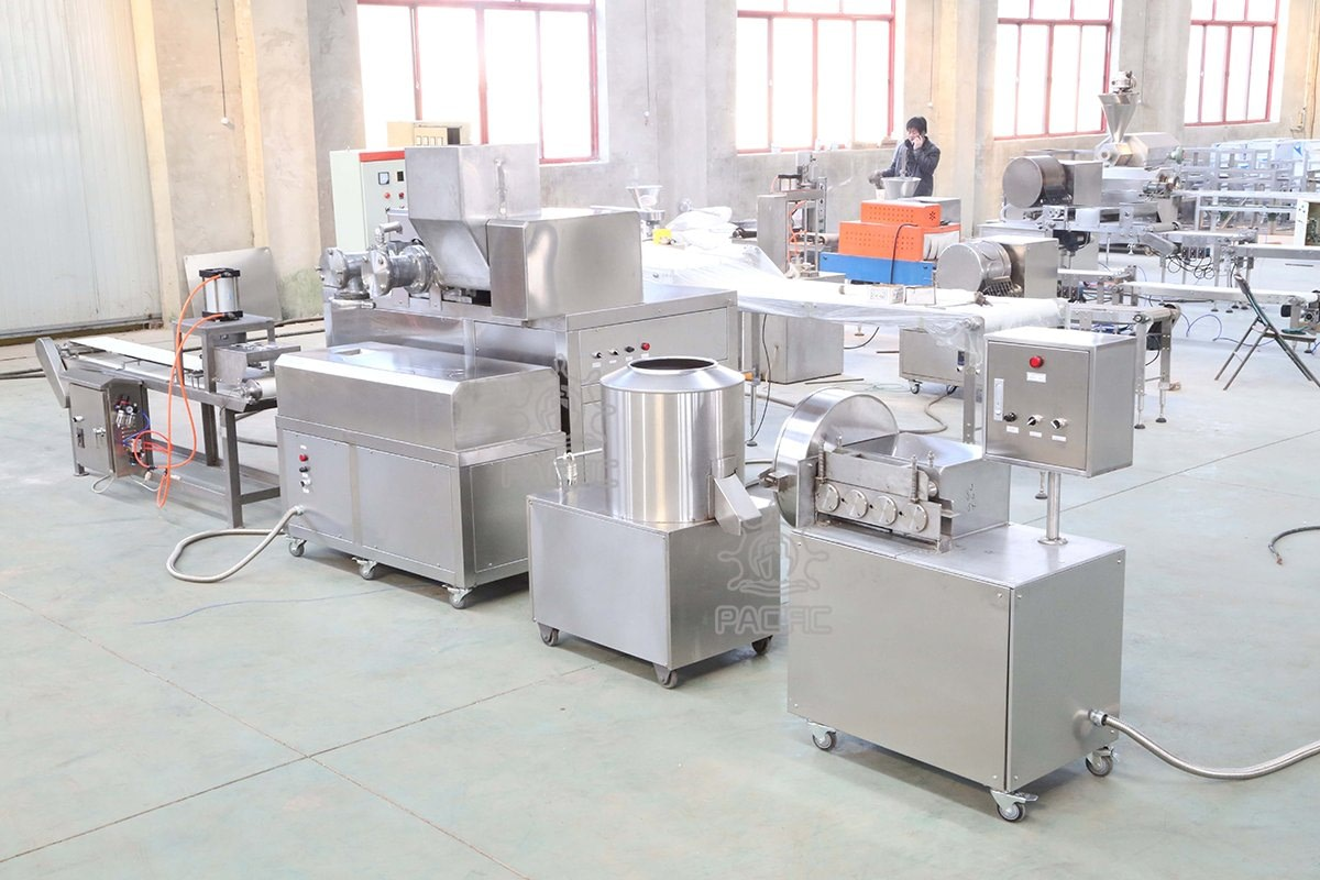 Pictures of Prawn Crackers Production Line