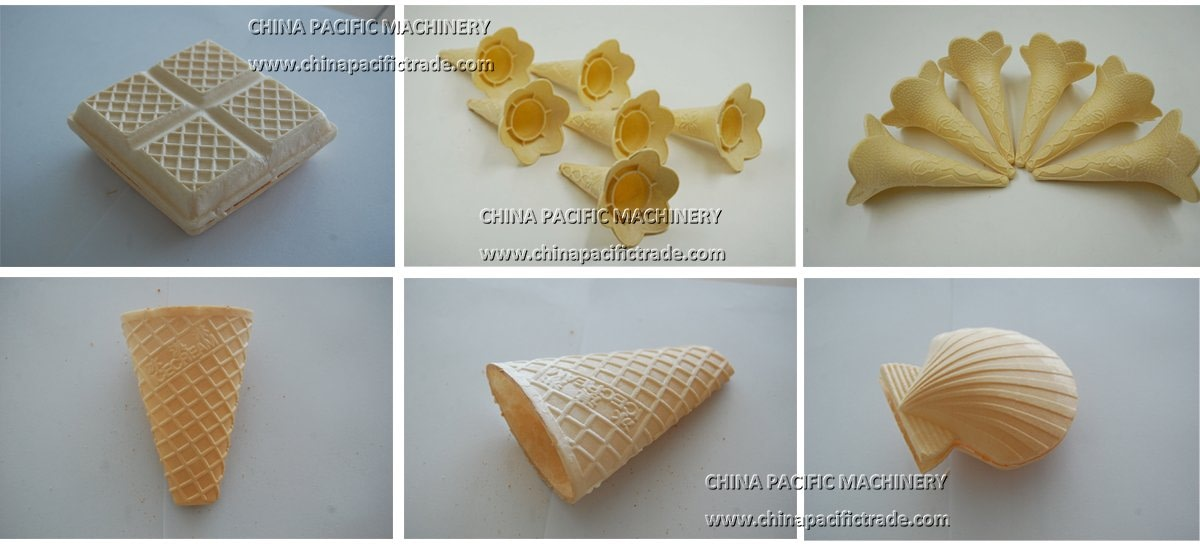 Pictures of Product Sample Produce By Wafer Cone Making Machine