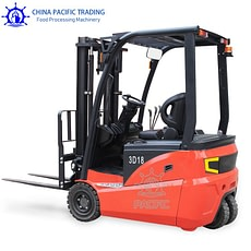 Picture of 3 Wheel Electric Forklift
