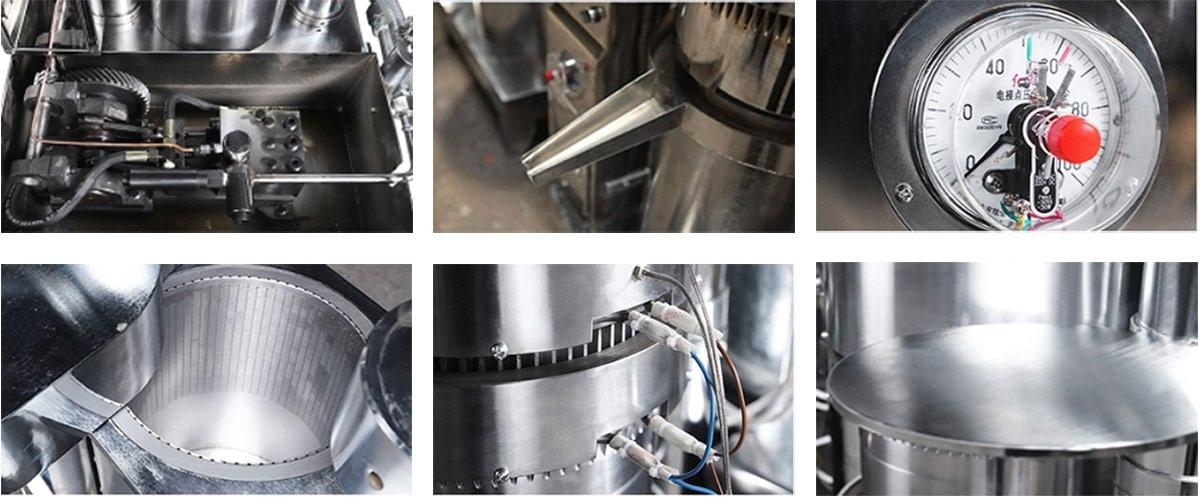 Machine Main Parts Details Pictures