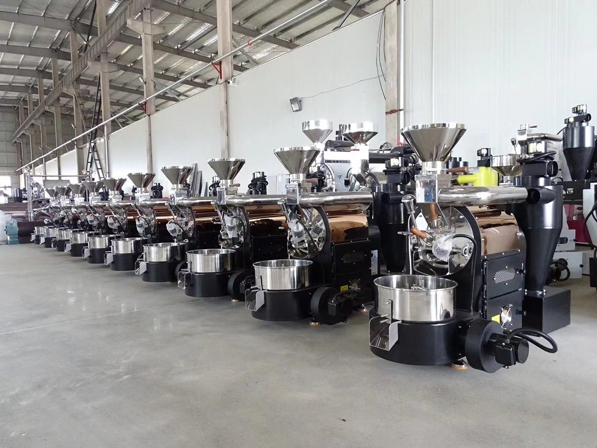 Pictures of Coffee Roaster Workshop