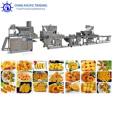 Chicken Nuggets Production Line Pictures