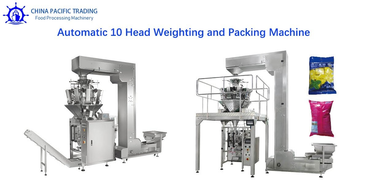 10 Head Weighting and Packing Machine