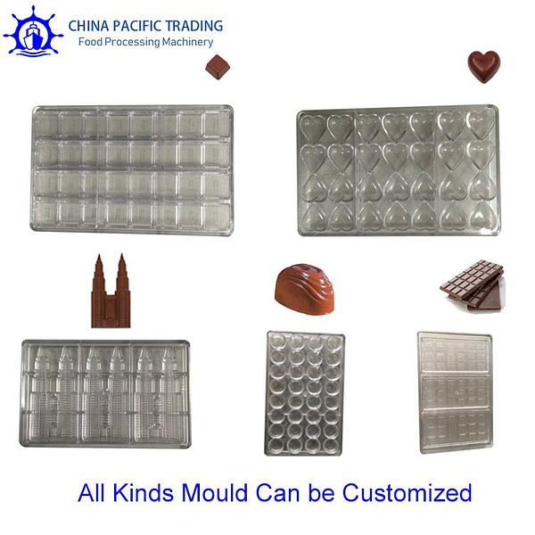Pictures of Chocolate Making Machine Mould
