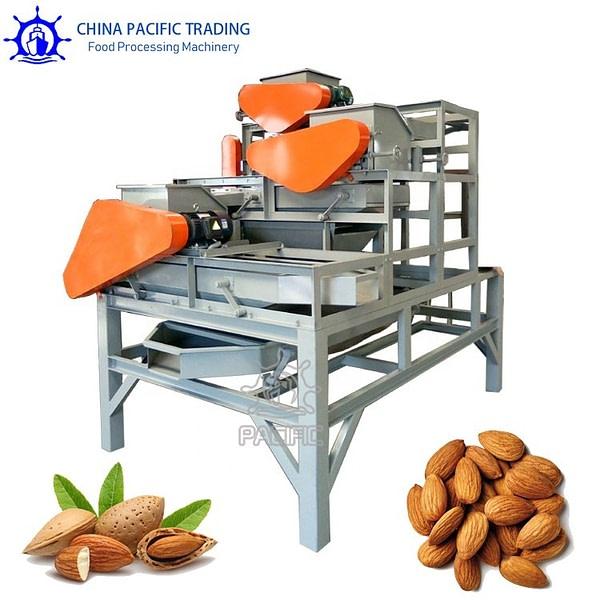 3 Stage Almond Cracker Machine