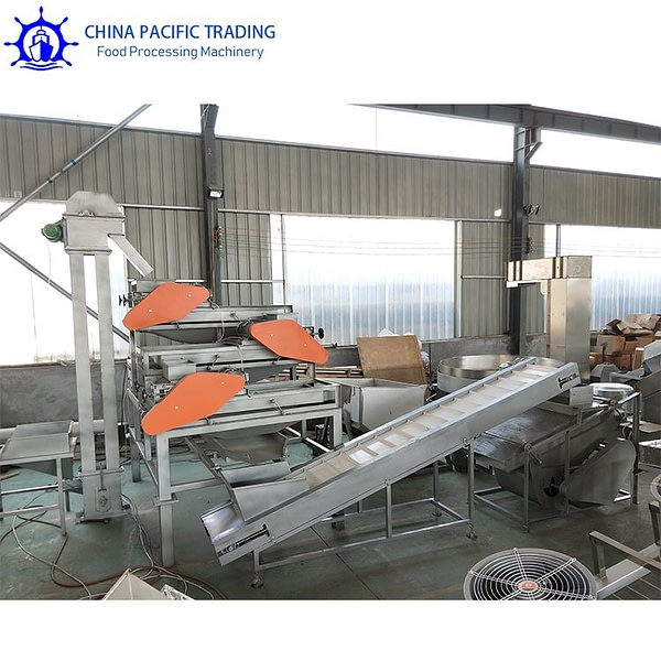 Pictures of Almond Shelling Line