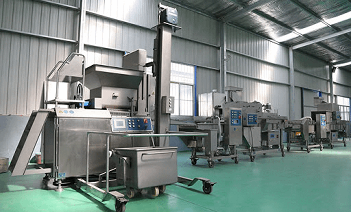 Production Line Installation on Our Customer Site