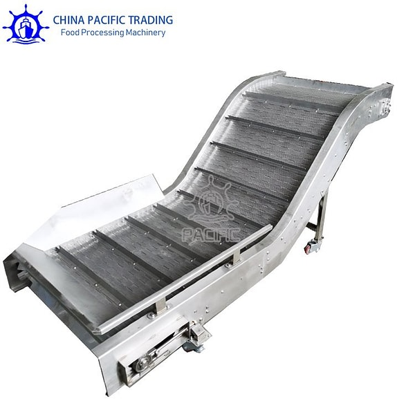 Pictures of Chain Plate Conveyor Belt