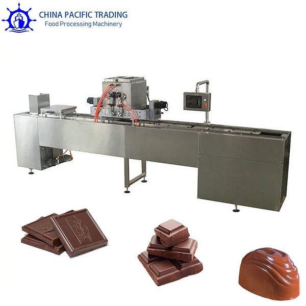 Pictures of Semi-Automatic Chocolate Moulding Machine